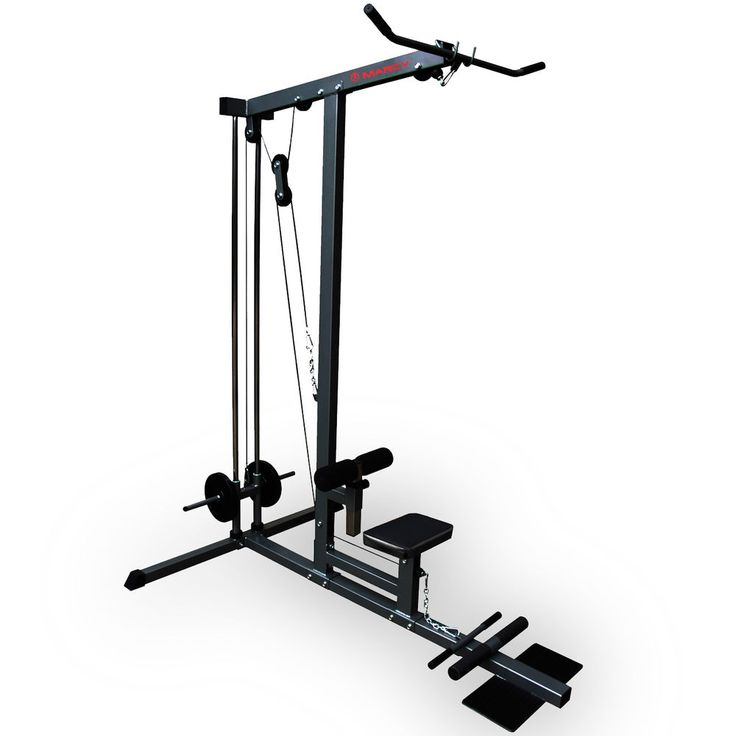 Marcy Eclipse PU1000 Lat Pull Down & Seated Row Home Multi Gym Machine