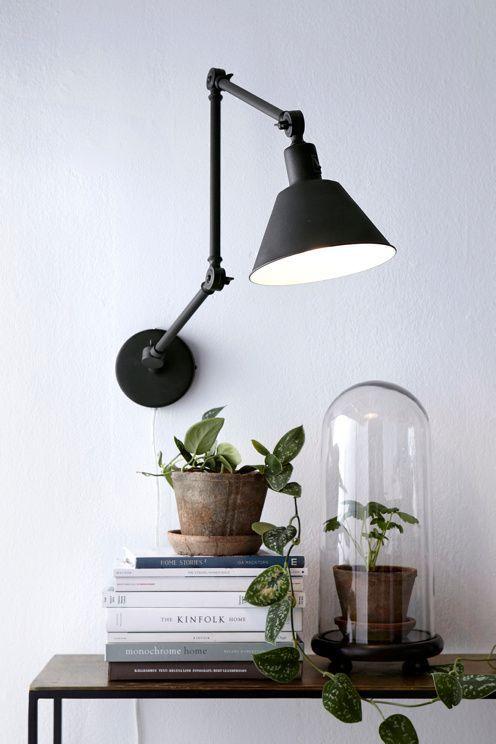 25 beste idee n over wandlamp op pinterest hangende metselaarkruiken muur blakers en - Ikea appliques verlichting ...