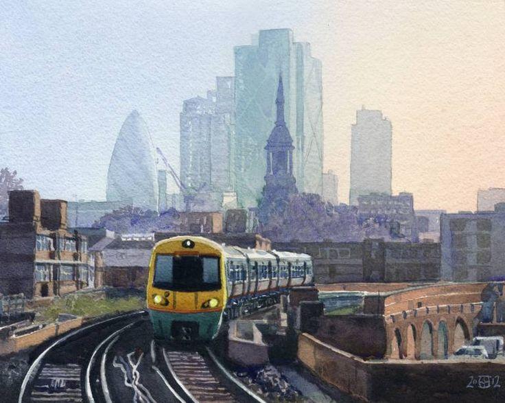 Hoxton Train by Rob Adams