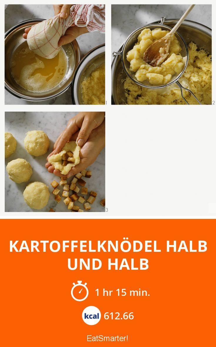 Kartoffelknödel halb und halb - smarter - Kalorien: 612.66 kcal - Zeit: 1 Std. 15 Min. | eatsmarter.de