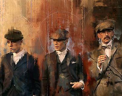 Bekijk dit @Behance-project: \u201cBBC Peaky Blinders\u201d https://www.behance.net/gallery/21883219/BBC-Peaky-Blinders
