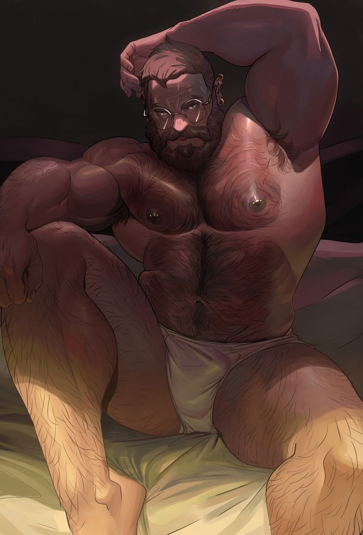 nude bear men art