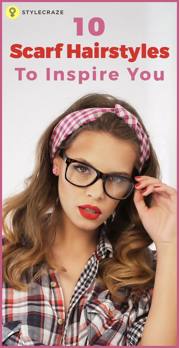 From a simple head wrap look, long straight hair tied with a bandana or a rockabilly hairstyle, we have compiled the list of top ten hair scarf hairstyles that you can absolutely rock everywhere. - See more at: http://www.stylecraze.com/articles/stylish-hair-scarf-hairstyles-to-inspire-you/#sthash.ru6WP1R6.dpuf