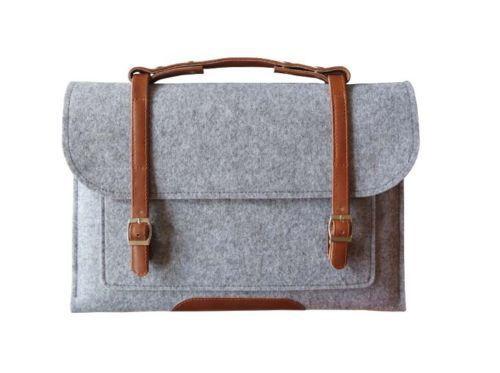 Frete grátis 4 cores 11 13 15 '' Laptop de lã Sleeve Bag Carry Case capa para IBM Dell HP Macbook Air Pro em Bolsas & cases para notebook de Computador & rede no AliExpress.com | Alibaba Group