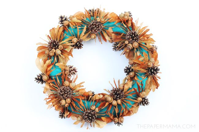 It's a new season, so that means it's time for a new wreath (I love wreaths… and Fall). I'd like...