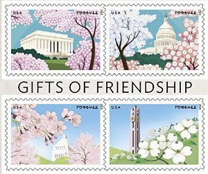 Gifts of Friendship: New Limited Edition Forever Postage Stamp Sheet Now Available at Amazon! Available from 5/1/2015. http://www.amazon.com/gp/product/B00W3NLWCW/?tag=p1nt-20