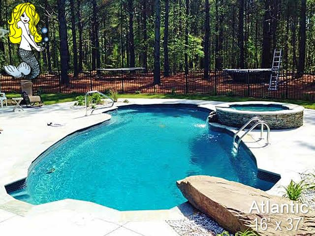 33 best 8 39 depth fiberglass pools images on pinterest - How long after you shock a pool can you swim ...