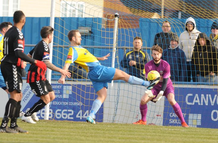 CANVEY Island's FA Cup dream ended at Potters Bar Town as they went down 3-2 to…