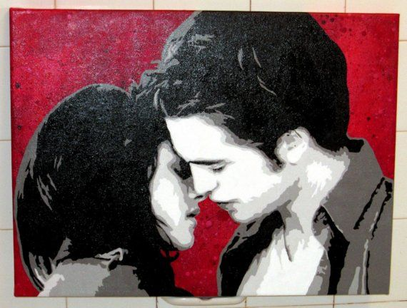 Edward Cullen and Bella Swan Kiss Twilight