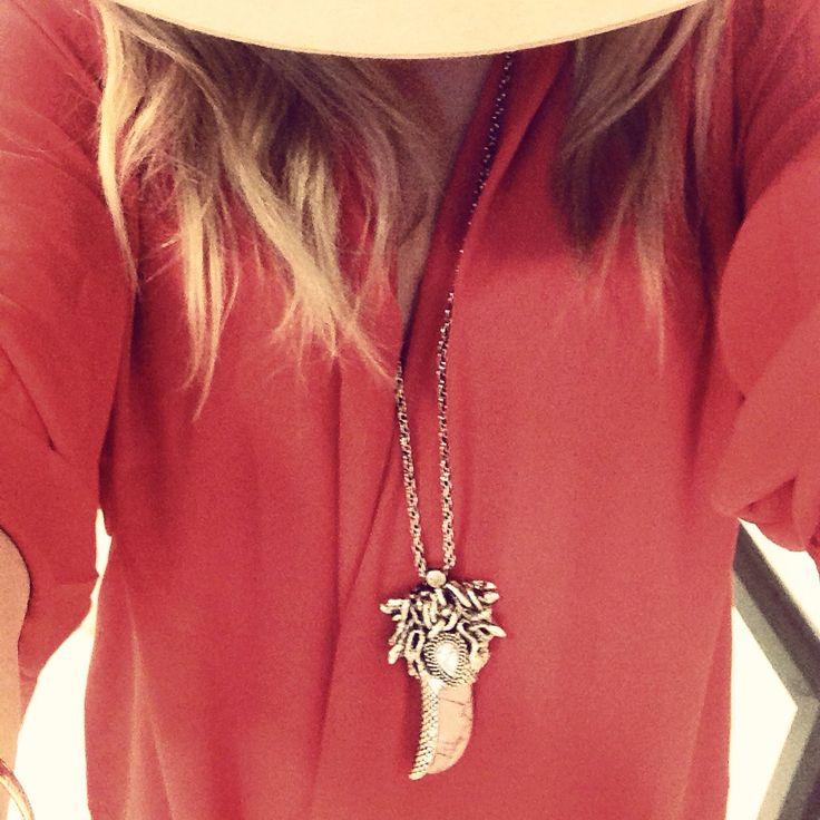 Sunday Brunch Style | Samantha Wills Necklace | Madison Square Clothing Dress