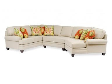 Shop for Smith Brothers 3-Piece Sectional With Wedge, SB5000-SECT1, and other Living Room Sectionals at Penny Mustard in Greendale, Wisconsin. As Shown: $5418 (Fabric No Longer Available, Grade 10 Price).