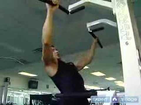How to Use Gym Exercise Machines : Using the Assisted Pull-Up Exercise Machine at the Gym  #GetSlim with InnerTitan Build-a-Plan workouts at www.InnerTitan.com