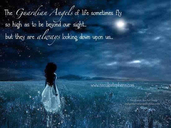 Guardian Angel Quotes Heaven. QuotesGram