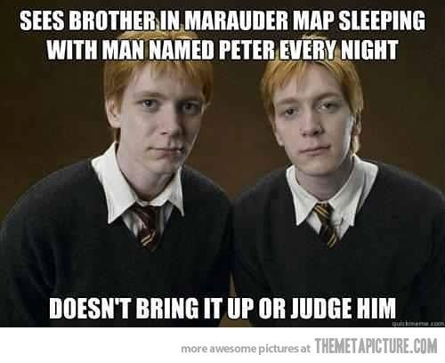 I don't normally like sharing these but being a Harry Potter fan