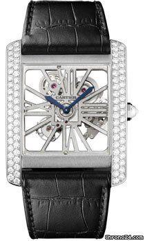 Cartier Tank MC Palladium $78,435 #Cartier #watch #watches #luxury #rare #chronograph palladium case with crocodile skin bracelet and manual winding