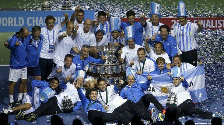 Seleccion Argentina de Tenis . Campeona Copa Davis 2016 .