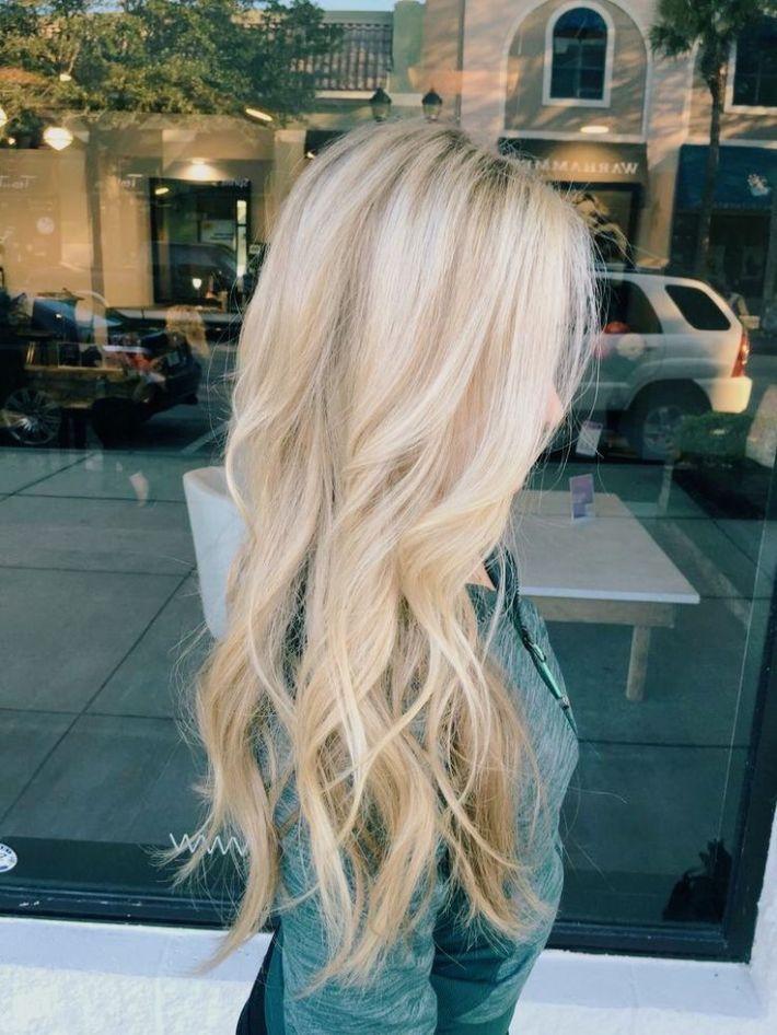 Nuances de blond : hair