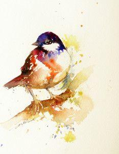 Indigo-head-bird by Arti Chauhan
