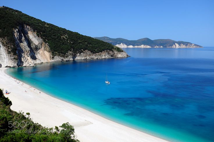 """Myrtos Beach Cefalonia Go to http://iBoatCity.com and use code PINTEREST for free shipping on your first order! (Lower 48 USA Only). Sign up for our email newsletter to get your free guide: """"Boat Buyer's Guide for Beginners."""""""