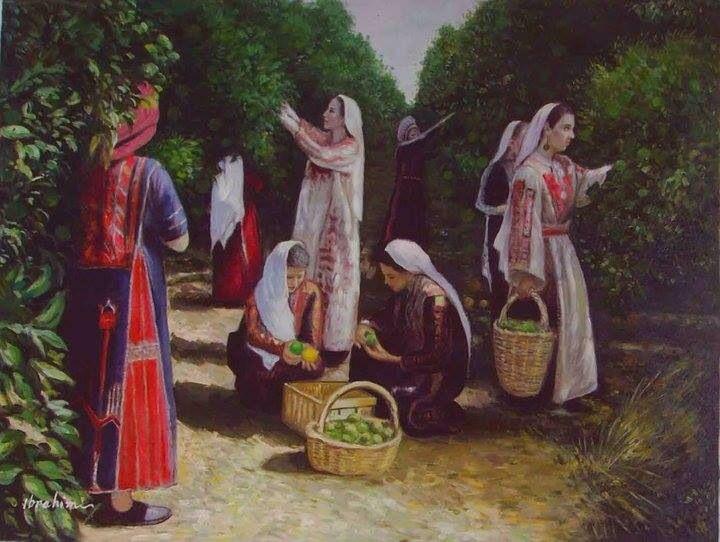 من اعمال الفنان ابراهيم شلبي