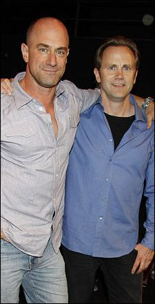 lee tergesen and christopher meloni | Christopher Meloni and Lee Tergesen