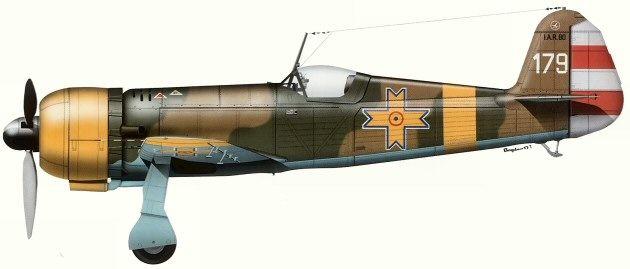 IAR 80 Forţele Aeriene Regale ale României