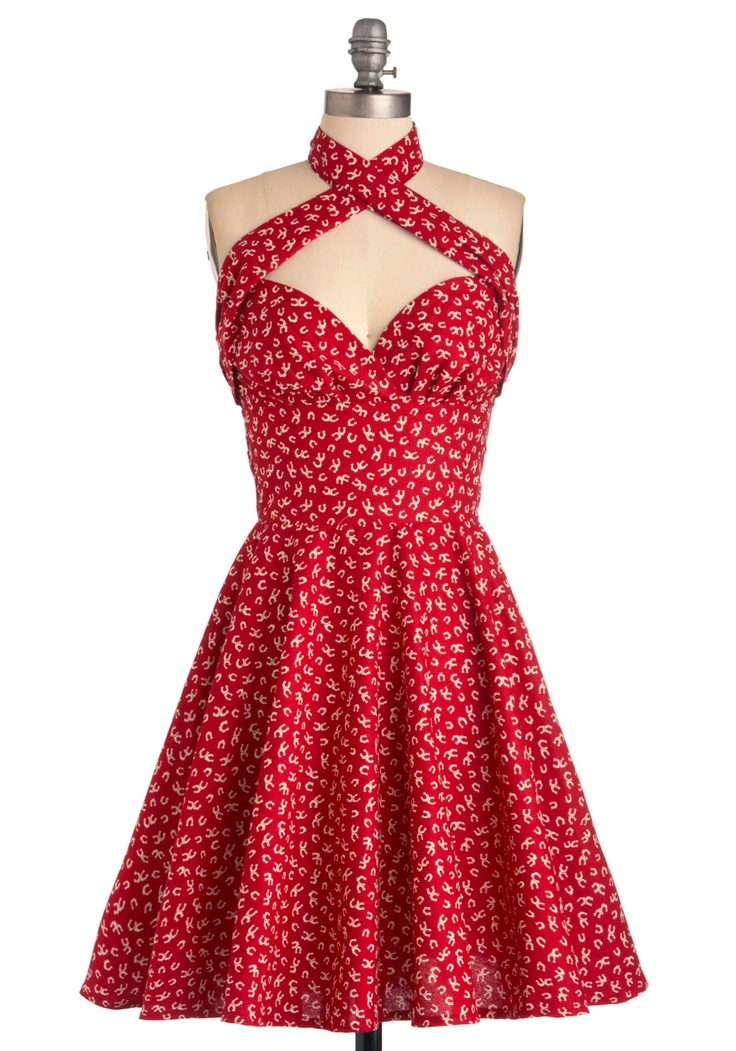 Barefoot in Big Oak Dress | Mod Retro Vintage Dresses | ModCloth.com