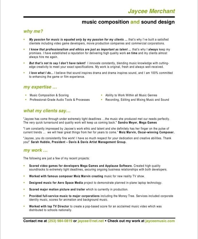 17 best Entertainment Resumes images on Pinterest Free resume - quotes for resumes