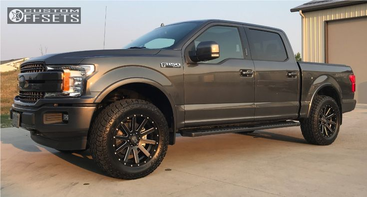 1 2018 F 150 Ford Ford Racing Performance Parts Leveling Kit Xd Heist Matte Black Ford Trucks F150 Ford F150 Ford F150 Fx4
