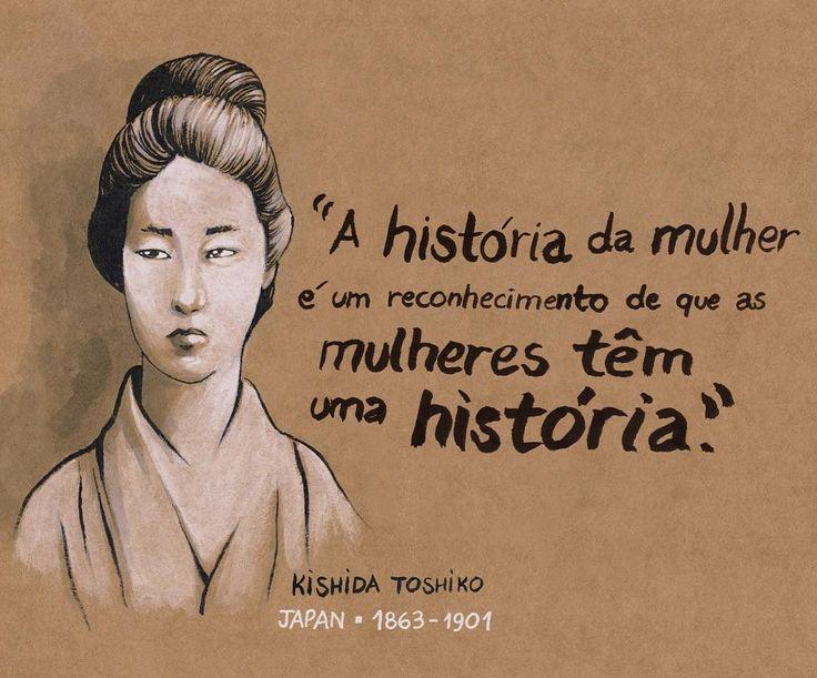 By carolrossetti88: Homenagem do mes da mulher parte 1! #kishidatoshiko #feminismo #mesdamulher #diadamulher #illustration #feministillustration