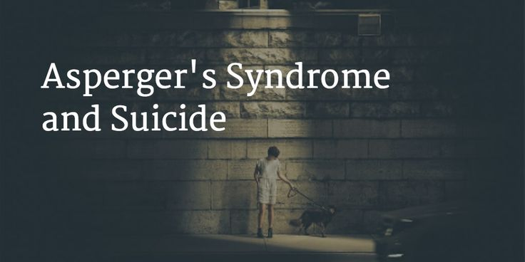 www.pubmed.gov.uk: Suicide in ASD is largely understudied.