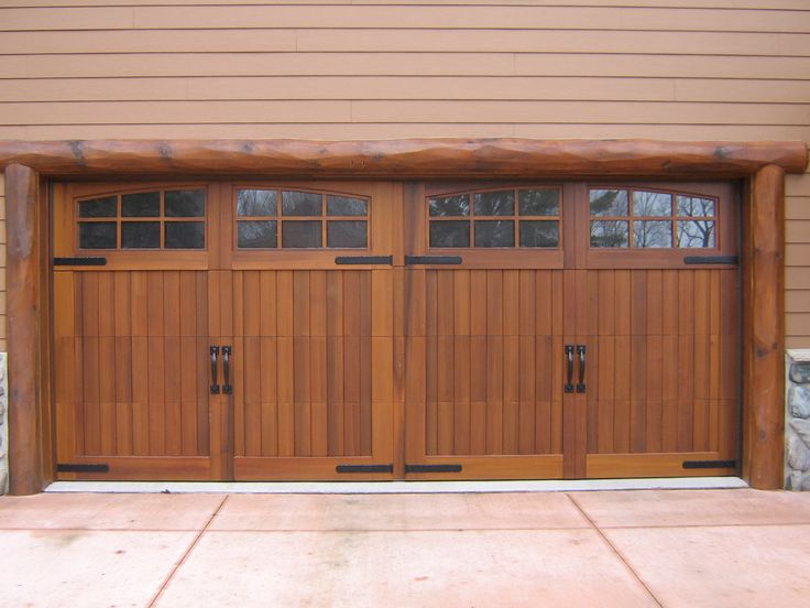 Best 25 wood garage doors ideas on pinterest painted for Best wood for garage doors