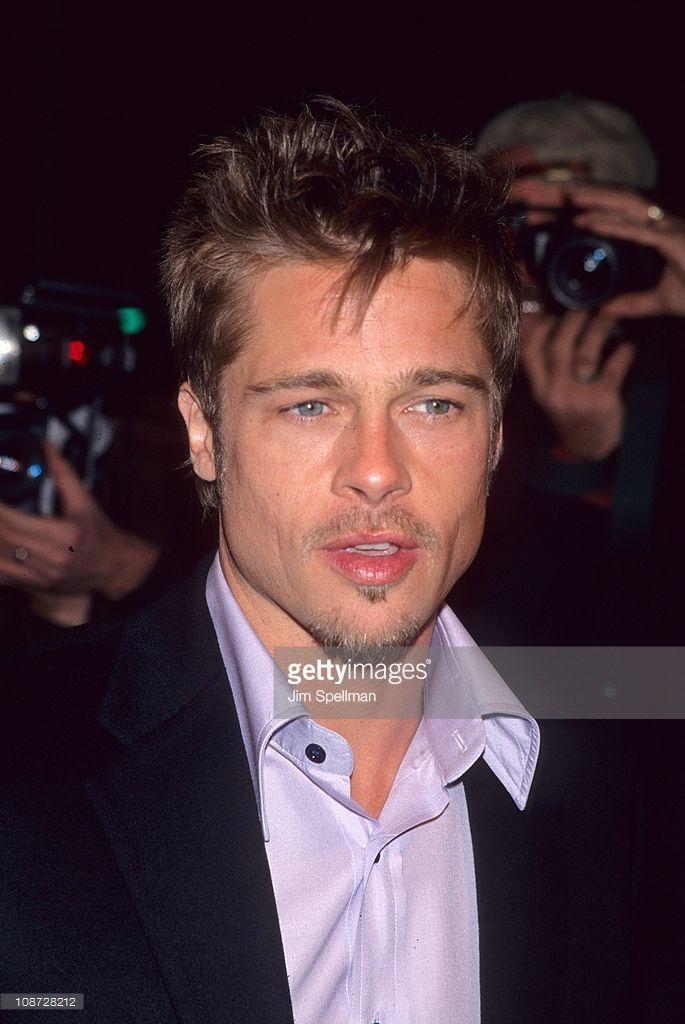 Meet Joe Black New York Premiere Photos And Premium High Res Pictures Brad Pitt Brad Pitt Haircut Premiere