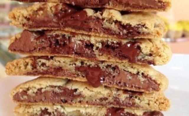 Cookies Pop Ripieni Nutella   Clicca sul link per leggere la ricetta completa sul mio blog😍😍😍
