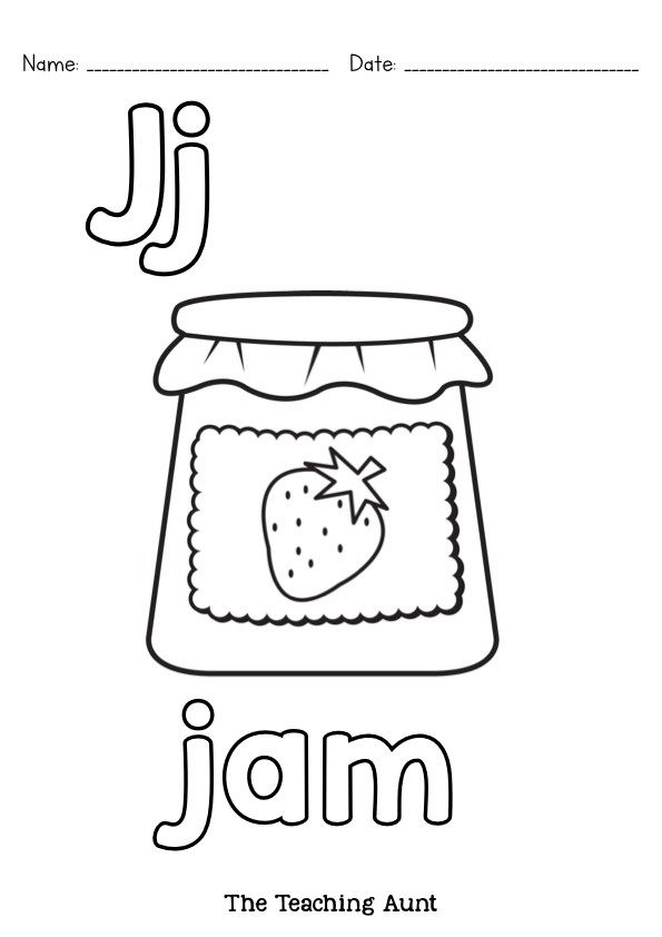 Alphabet Coloring Pages Free Printable The Teaching Aunt Alphabet Coloring Pages Alphabet Coloring Preschool Coloring Pages
