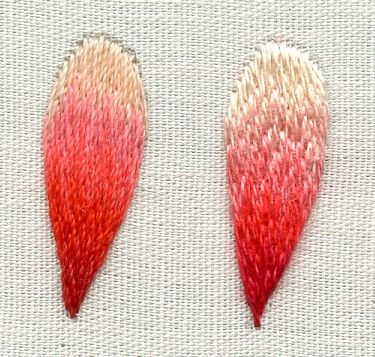 41 best embroidery stitches repertoire images on for Hand thread painting tutorial