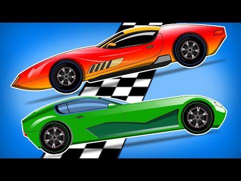 sports car race car race for kids car racing game youtube