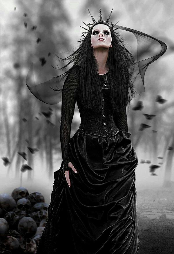 Karyna looked at the sky and trembled inside herself.  It is coming.