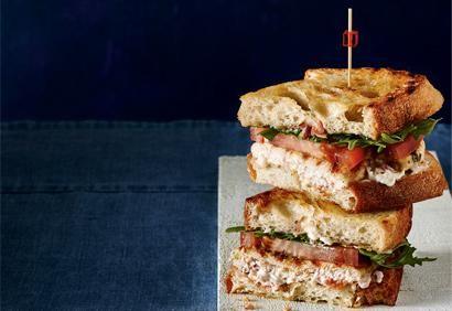 Sandwich au poulet BLT