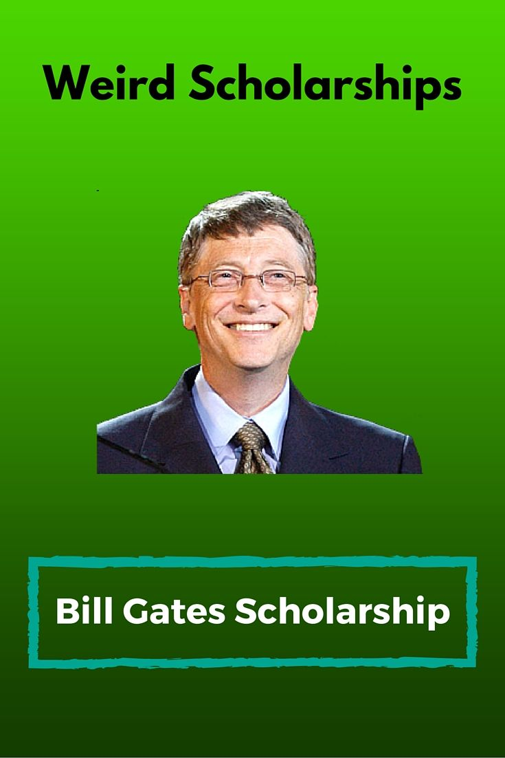 example about bill gates scholarship essays