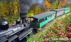 tickets to ride - Cass Scenic Railroad, Cass, WV