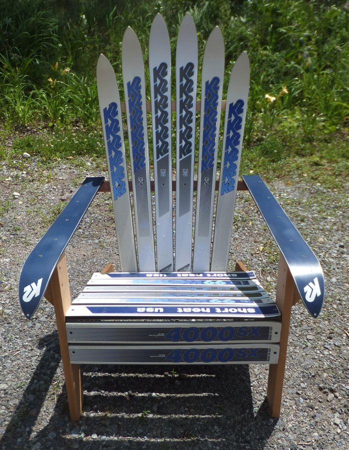 17 Best images about Marla Ski Chairs – Adirondack Ski Chairs