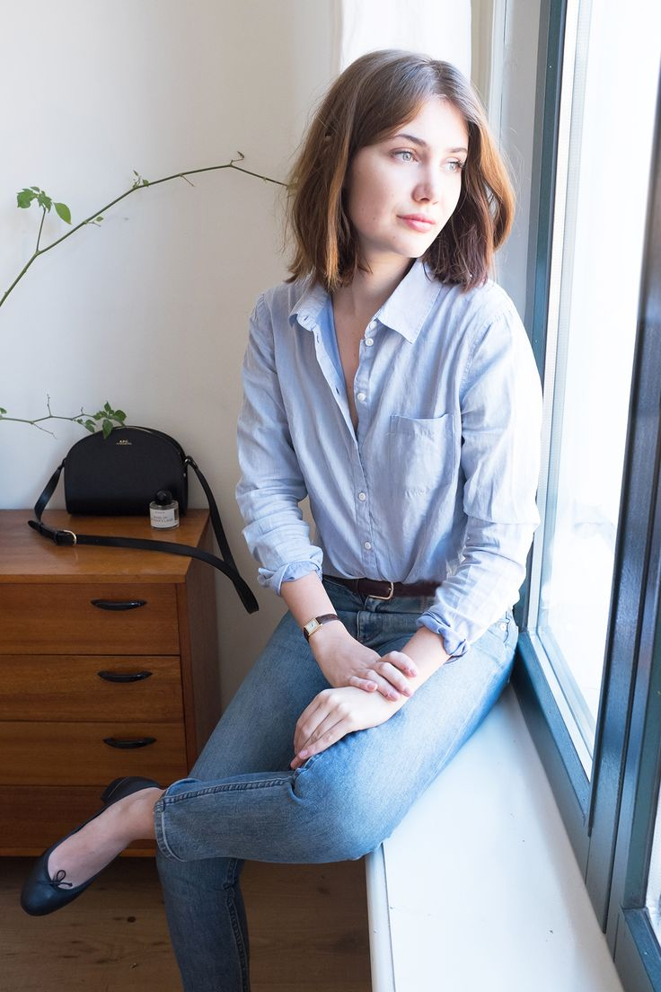 Steven Alan Shirt and A.P.C. Jeans by www.sartreuse.com