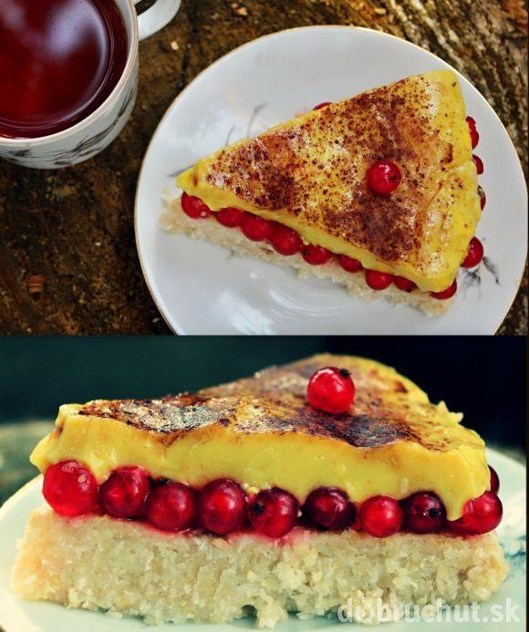 Nepečená kuskusová VEGAN torta