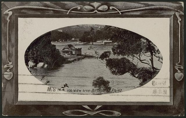 View from Cremorne Point, 1909 by Powerhouse Museum Collection