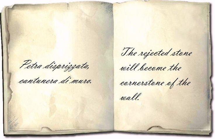 Sicilian proverb in the Sicilian language.
