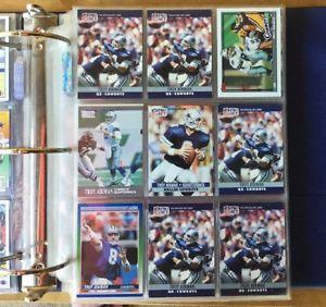 Football Card Lot 300 Trading Cards | eBay