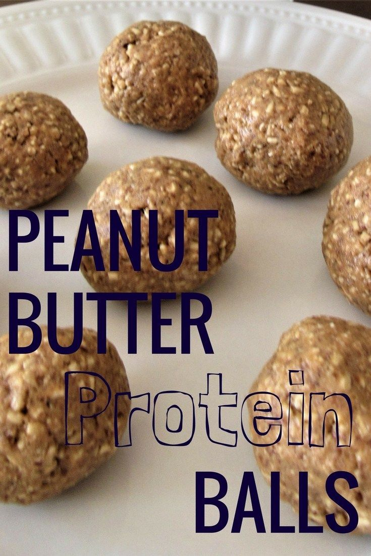 Peanut Butter Protein Balls - A healthy and delicious snack!