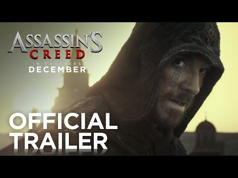 Michael Fassbender is a assassin-cum-hoodie knifing baddies during the Spanish Inquisition,