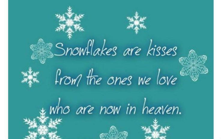 Snowflake Love Quotes Mesmerizing Kisses Winter Quote With Snowflakes The  Best Collection Of Quotes